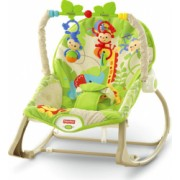 Balansoar Fisher-Price 2 in 1 Infant to Toddler Rainforest Friends