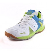 Proase Men's White Badminton Shoes - - 10 Uk