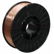 Hegesztő huzal rezezett acél (SG2) 0,6mm 5kg (200mm)