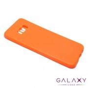 Futrola ULTRA TANKI KOLOR za Samsung G955F Galaxy S8 Plus narandzasta