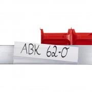 Tickethalter selbstklebend, VE 100 Stk HxB 25 x 100 mm