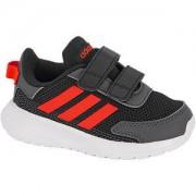 Adidas Zwarte Tensaur Run klittenband adidas maat 27