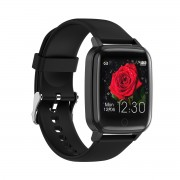 R1 1.3-inch Color IPS Screen Waterproof Female Physiological Cycle Health Monitoring Smart Watch - Black