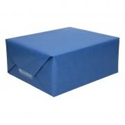 Shoppartners Uni kraftpapier donkerblauw 200 cm