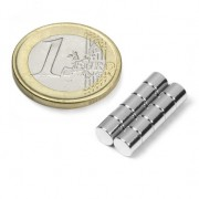 Magnet neodim disc 6mm x 5mm