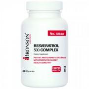 Resveratrol 500mg Complex, 60 capsule