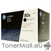 Комплект тонер касети HP 80X (CF280XD) (Black)