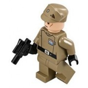 Lego Star Wars Imperial Officer Minifigure From Set 75106