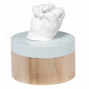 Baby Art Impression Pedestal My Very First 3D Beige and Blue