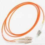 Patch cord - FO - 5 metri - LSZH - Galben - LANmark - Singlemode - Duplex LC-SC