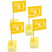 Folat Cocktailprikkers 50 jaar goud