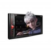 """Autoestéreo Con Pantalla De 6.2"""" Pioneer AVH-200EX DVD Bluetooth Iluminación Multicolor"""