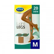 Scholl Light Legs Beige 20 DEN M kompressziós harisnya 1db