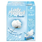 Corman Spa Lady Presteril Cotton Power Con Ali Assorbenti Poket In Cotone 10 Pezzi