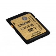 Memóriakártya, SDHC, 128GB, Class 10, KINGSTON UHS-I Ultimate Card