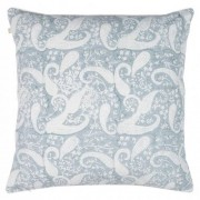 Cushion cover - Inverted Priya - Cashmere blue