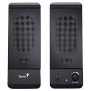 Hangszóró, 2.0, sztereó, 3W, USB táp, GENIUS SP-U120, fekete (GEHU120)