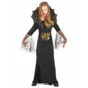 Vegaoo Halloween heksen en spinnen kostuum voor meisjes S 110/122 (4-6 jaar)