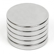 Techamazon Neodymium N52 Grade Super Strong Magnet 12x3 mm Type Cylindrical Set of 5
