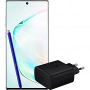 Samsung Galaxy Note 10 Plus 256 GB Zilver + Extra Samsung Snellader 45W met Power Delivery