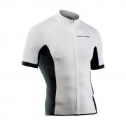 Northwave Force rövid ujjú kerékpáros mez fehér M
