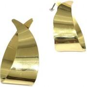 Digital Dress Women's Fashion Jewellery Earring Modern Western Light Weight Oxdized Gold-Plated Studded Dangling Earrings for Women and Girls- Skin Friendly