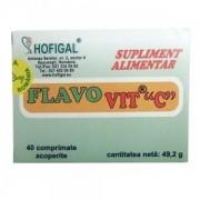 HOFIGAL FLAVO VIT C ADULTI 500mg 40 comprimate acoperite