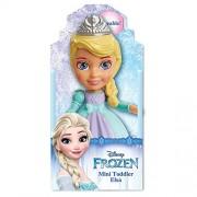 "Disney Frozen Elsa Poseable Sparkle Collection Mini Toddler Doll 3.5"""
