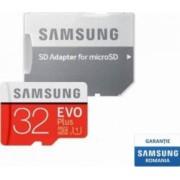 Card de Memorie Samsung EVO Plus microSDHC 32GB Clasa 10 95MBs UHS-I + Adaptor SD