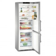 GARANTIE 4 ANI Combina frigorifica Liebherr, clasa A+++, congelator NoFrost, full inox CBNPes 5758