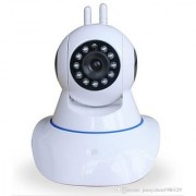 ZEMINI Wireless HD CCTV IP wifi Camera | Night vision Wifi 2 Way Audio 128 GB SD Card Support for Vivo Y21L