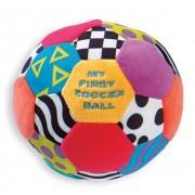 Текстилна футболна топка - цветна Playgro My First