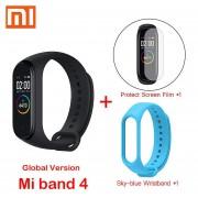 mi Band 4 pulseras inteligentes mi band 3 pulsera ritmo cardíaco rastreador de Fitness pantalla tác