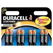 Standaard Duracell MX1500 ultra AA (per 8)