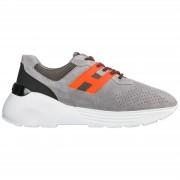 Hogan Scarpe sneakers uomo camoscio active one