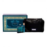 Versace Eros confezione regalo eau de toilette 100 ml + eau de toilette 10 ml + trousse uomo