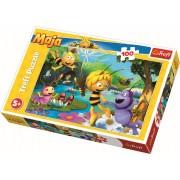Puzzle clasic pentru copii -Albinuta Maya si prietenii 100 piese
