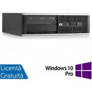 Sistem PC Refurbished HP Compaq 6000 Pro SFF (Procesor Intel® Pentium® E5800 (2M Cache, up to 3.20 GHz), Wolfdale, 2GB, 160GB HDD, Intel® GMA, Win10 Pro, Negru)
