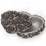 Decoraţiune (cutie de bijuterii) ALCHEMY GOTHIC - Rose Heart - SA8