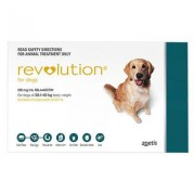 Revolution Large Dogs 40.1-85lbs (Green) 6 Doses