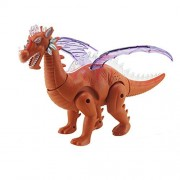 Dinosaur Battery Powered Realistic Sounds and Fun Lights Walks and Roars Child Dino Toys