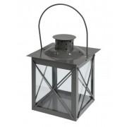 Mécsestartó lámpás szürke 15cm ADA000280