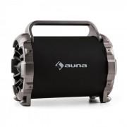 Auna Blaster M, hordozható bluetooth hangfal, LED, fényhatás, AUX, SD, USB, FM (BTS19-Blaster M)