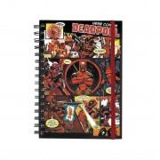 Marvel A5 Anteckningsbok - Deadpool
