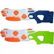 Pistol apa cu teava dubla cu presiune aer 57x18 cm multicolora