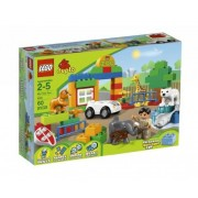 Toy / Game Lego Duplo My First Zoo 6136 With Plenty Of Colorful Bricks For Little Hands And Big Imaginations