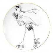 Rory Dobner Perfect Plate Fifi Flamingo 21 cm