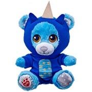Build a Bear Blue 7in. Teddy Buddies Dragon Suit Stars Glow Mini Stuffed Plush Toy Animal