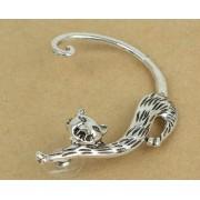 Macskás gót fülbevaló