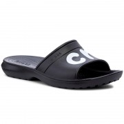 Чехли CROCS - Classic Graphic Slide 204465 Black/White